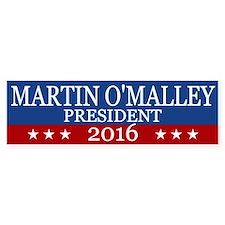 Martin O'malley President 2016 Bumper Bumper Sticker