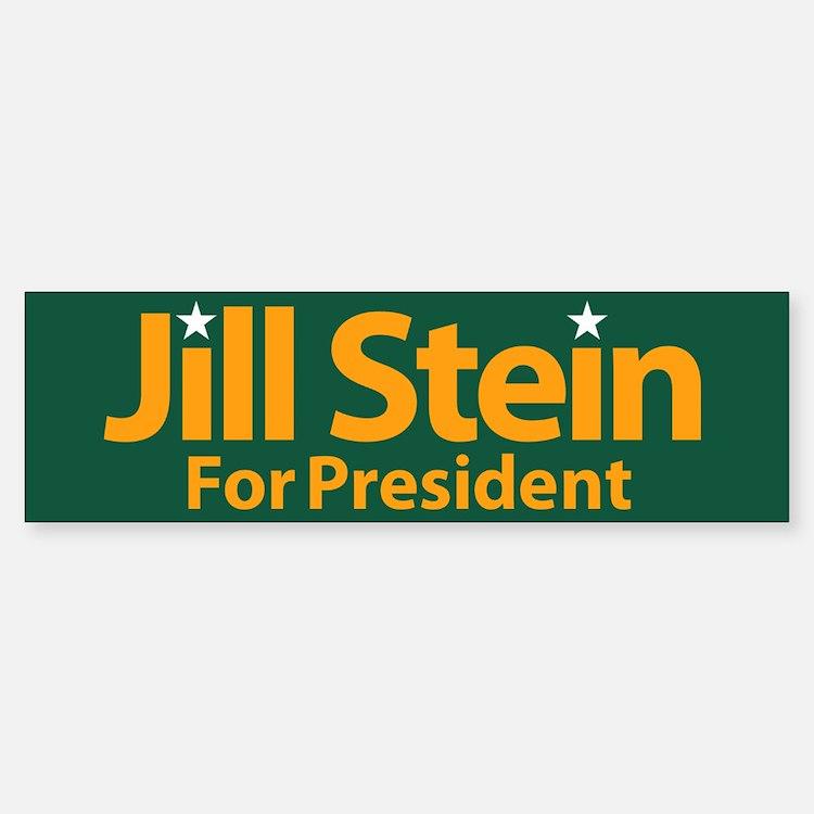 Jill Stein For President Bumper Bumper Bumper Sticker
