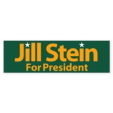 Jill Stein For President Bumper Bumper Sticker