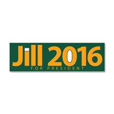 Jill 2016 Car Magnet 10 X 3
