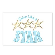 Shine Like Star Postcards (Package of 8)