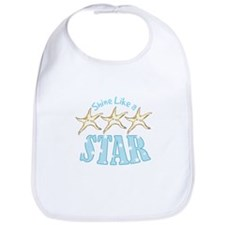 Shine Like Star Bib