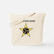 Volleyball Star (Custom) Tote Bag