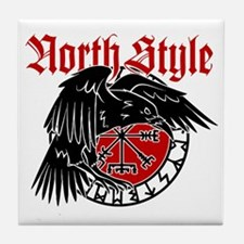 North Style Tile Coaster