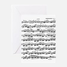 Flute Solo Greeting Cards