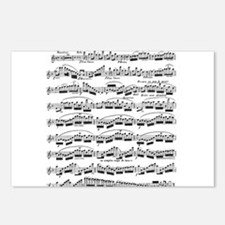 Flute Solo Postcards (Package of 8)