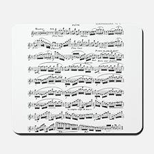 Flute Solo Mousepad