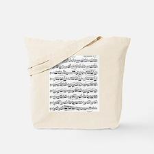 Flute Solo Tote Bag