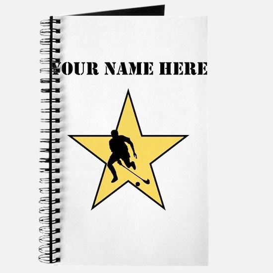 Field Hockey Star (Custom) Journal