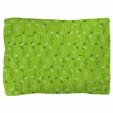 Small music notes Pillow Sham