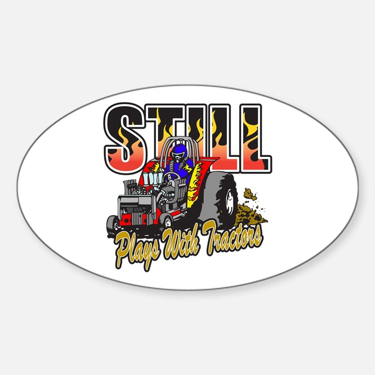 Garden Pulling Tractor Decal : Tractor pulling bumper stickers car decals more