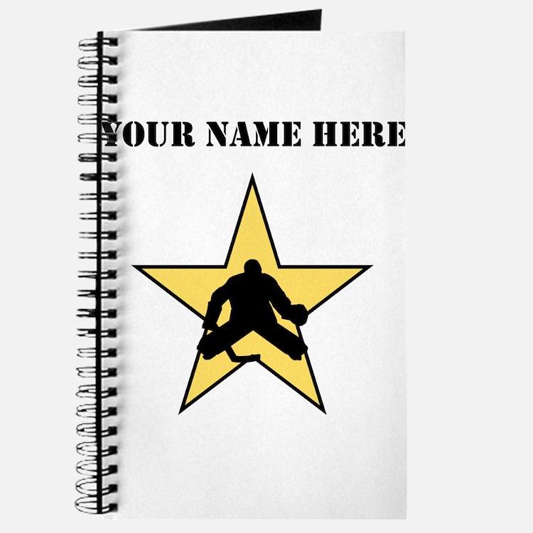 Hockey Star (Custom) Journal