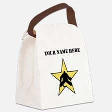 Hockey Star (Custom) Canvas Lunch Bag