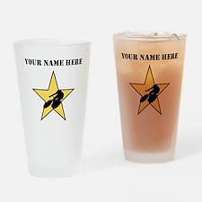Cycling Star (Custom) Drinking Glass