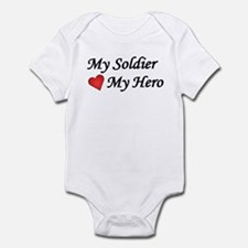 My Soldier My Hero US Army Infant Bodysuit