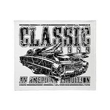 Classic 1959 Caddy Throw Blanket
