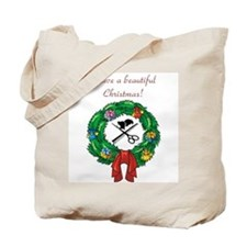 Beautician Christmas Tote Bag