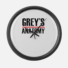 Grey's Anatomy Large Wall Clock