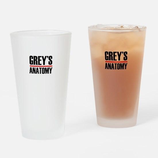 Grey's Anatomy Drinking Glass