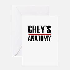Grey's Anatomy Greeting Cards