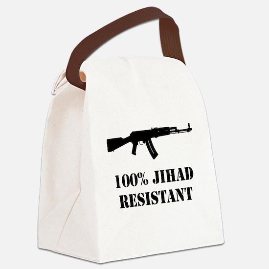 jihad Canvas Lunch Bag
