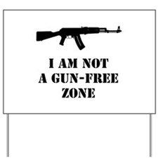 notgunfree Yard Sign