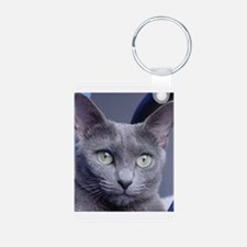 russian blue Keychains
