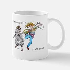 Dances With Wool / color Mug