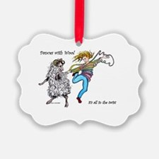 Dances With Wool / color Ornament