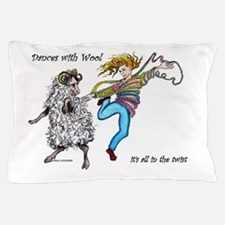 Dances With Wool / color Pillow Case