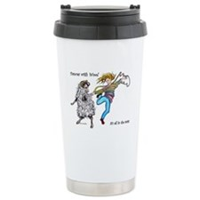 Dances With Wool / colo Travel Mug