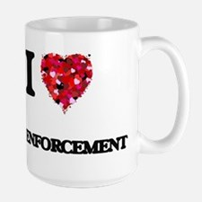 I love Law Enforcement Mugs