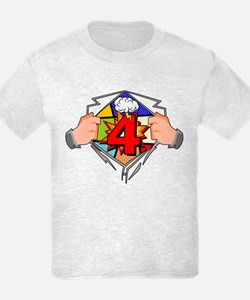 4th Birthday Comic T-Shirt