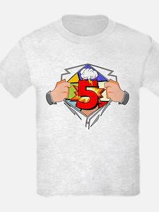 5th Birthday Comic T-Shirt