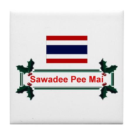 Thai Sawadee... Tile Coaster