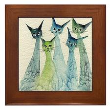 Lakeland Stray Cats Framed Tile