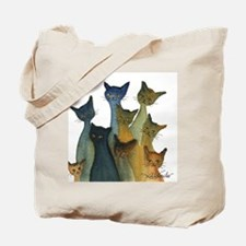 Merry Stray Cats Tote Bag