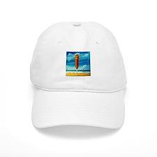 Corn Dog At The Beach Baseball Cap