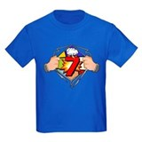 7th birthday Kids T-shirts (Dark)