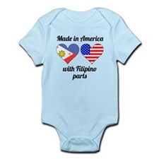 Made In America With Filipino Parts Body Suit