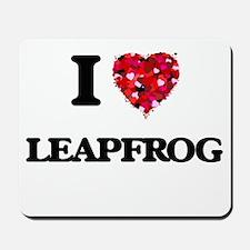I Love Leapfrog Mousepad