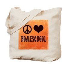 Cute Love peace studies Tote Bag