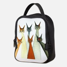 Seville Stray Cats Neoprene Lunch Bag