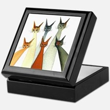 Seville Stray Cats Keepsake Box