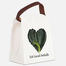 Eat Local DeKalb Canvas Lunch Bag