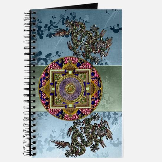 Harvest Moons Dragon Peonies Journal