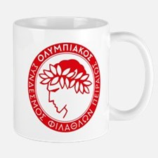 Olympiacos Red Mugs