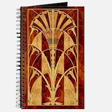 Harvest Moons Art Deco Panel Journal