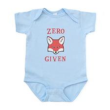 Zero (Fox) Given Onesie