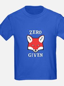 Zero (Fox) Given T